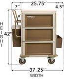 UltraGlide Medication Cart Model 401G3X0