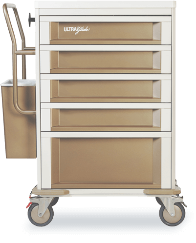 Medication Cart UltraGlide - Manrex Canada