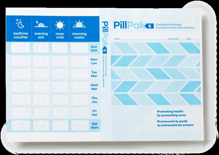 pillpak-s1 medicaiton compliance system