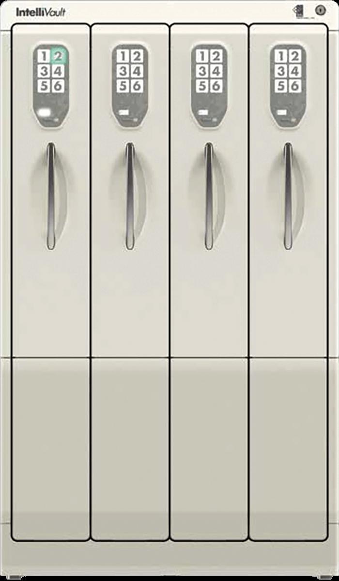 intellivault controlled drug storage & prescription filling cabinet
