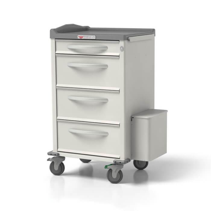 Phoenix Medication Cart - Pouch Porter