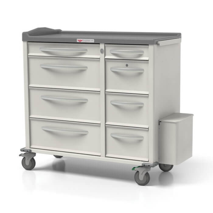 Phoenix Medication Cart - Large Punch Card Cart