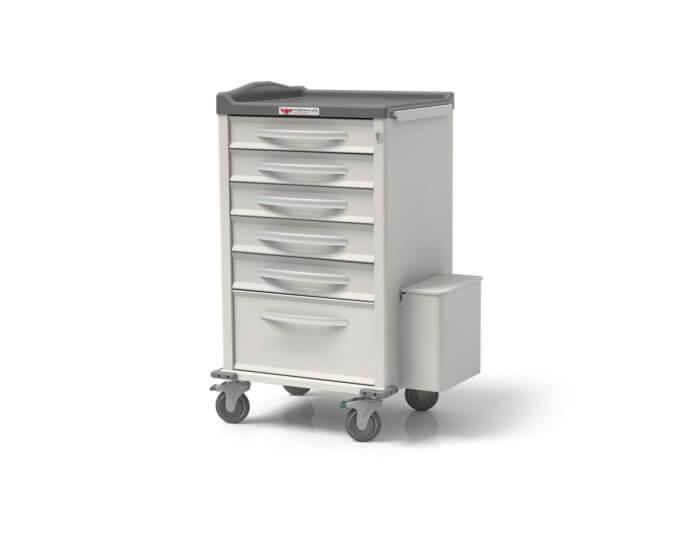 Phoenix Medication Cart - Small Punch Card Cart