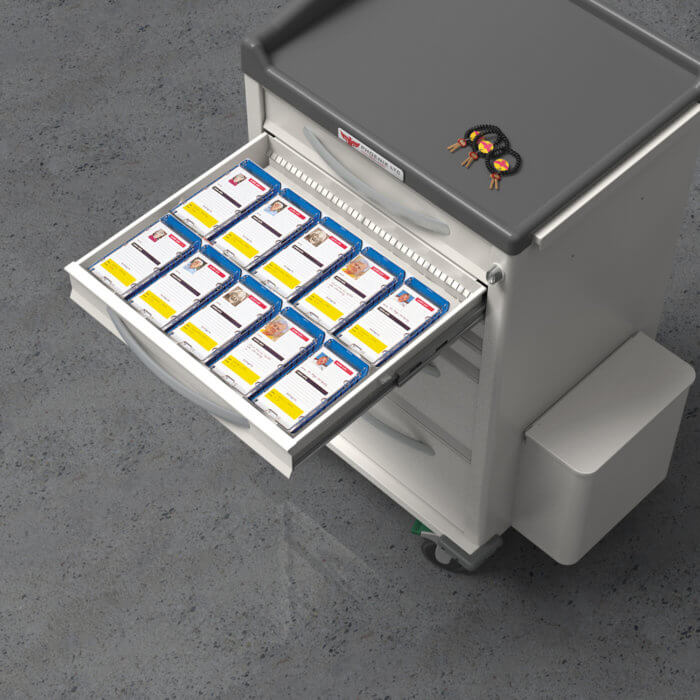Phoenix Medication Carts - Small Pouch Porter Cart