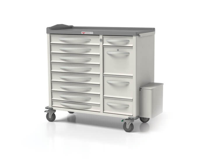 Phoenix Medication Carts - XL Pouch Porter Cart